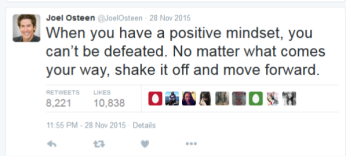 Joel Osteen lies